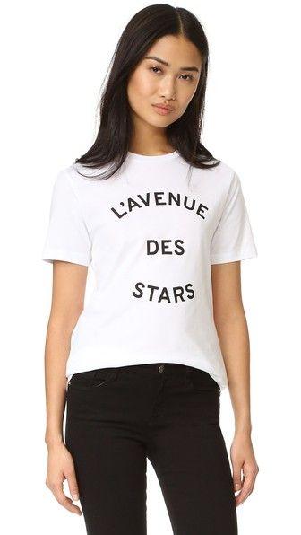 Etre Cecile Avenue Des Stars T Shirt