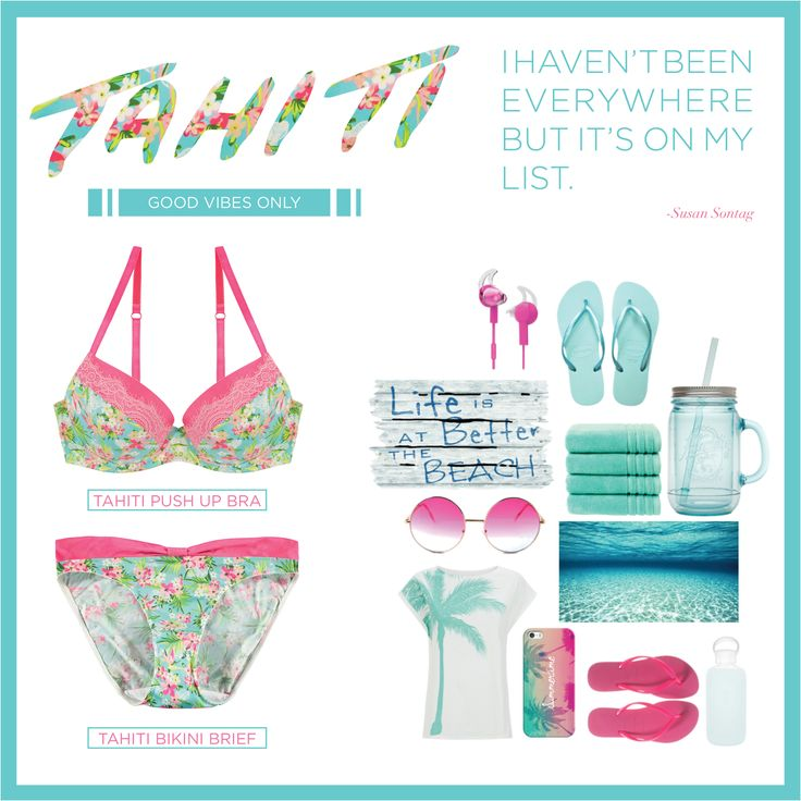 Bring on the sun! Bright and bold Tahiti and Flamenco will have you summer-ready in no time! https://www.intimo.com.au/