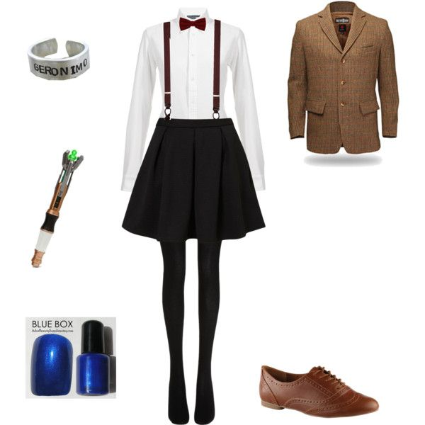 female 11th doctor by sweet-pastels on Polyvore featuring Ralph Lauren Blue Label Topshop  sc 1 st  Pinterest & 106 best Halloween images on Pinterest | Costume ideas Dalek ...