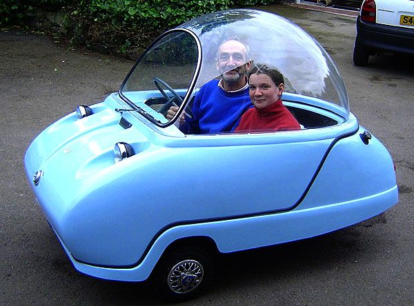 a cheap date on a cheap car peel p50 the smallest world s car is back check it out at http. Black Bedroom Furniture Sets. Home Design Ideas
