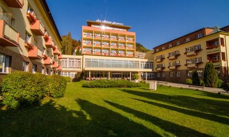 Get UK Deal: Karlovy Vary: 1- to 5-Night 4* Break with Half Board for just: £59.0 Karlovy Vary: 1-5 Nights for One or Two with Half Board and Spa Access at the 4* Spa Resort Sanssouci  >> BUY & SAVE Now!