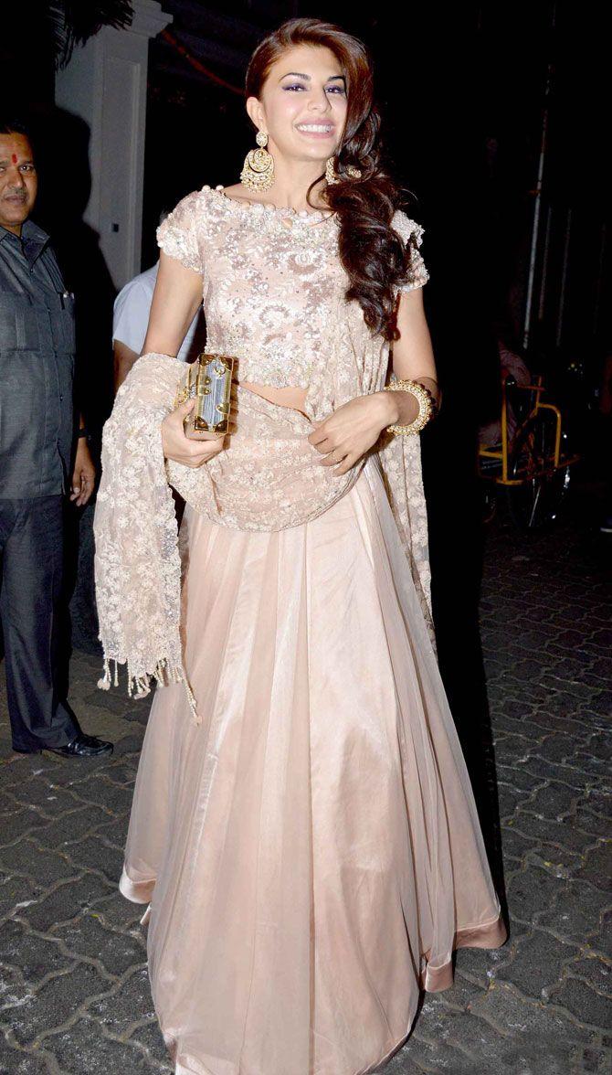 Jacqueline Fernandez : Photos: Salman, Ranbir, Katrina, other celebs at Anil Kapoor's Diwali bash