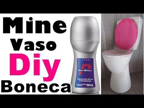 Diy - VASO sanitário de brinquedo - YouTube