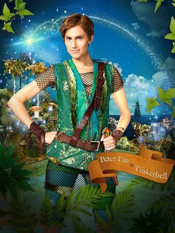 NBC - Peter Pan Live! Tonight {December 4th} at 8/7c on NBC #PeterPanLive