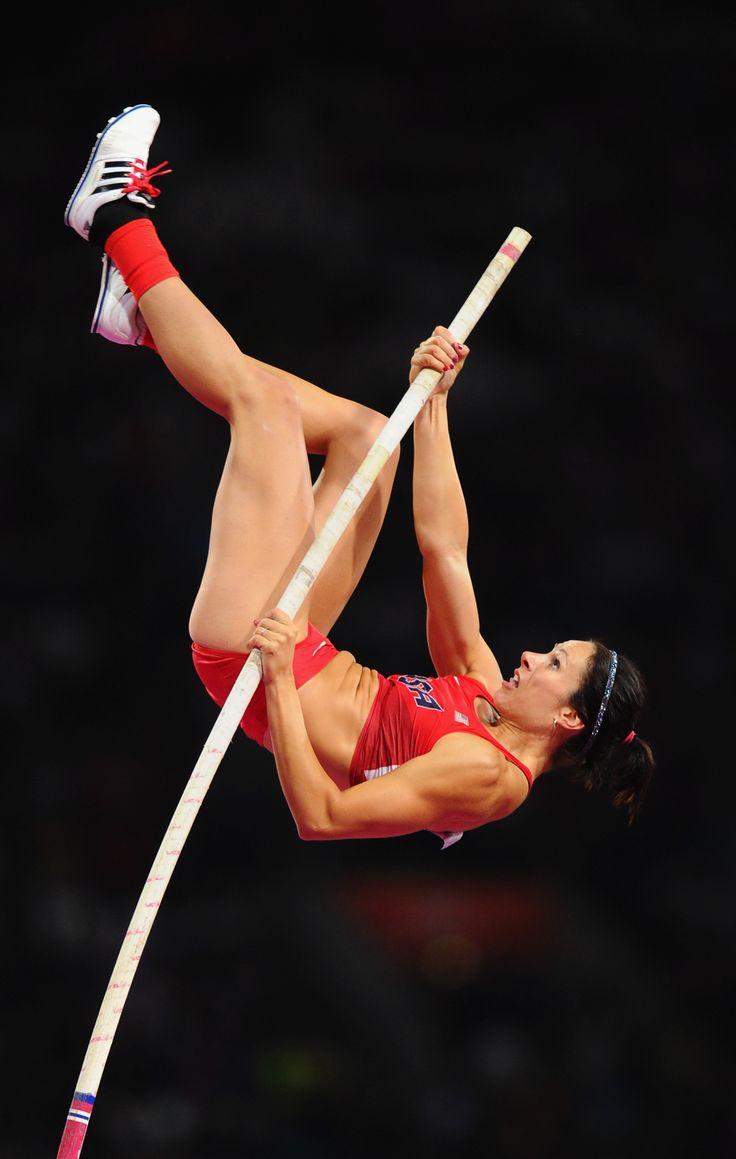 Jenn Suhr médaillée d'or en saut à la perche
