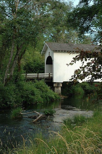 Mary's Creek Bridge - Benton County, Oregon