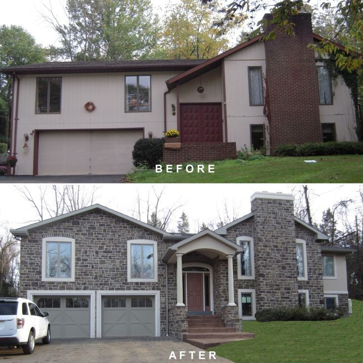 Before And After Garage Remodels: 1000+ Images About Split Level Changes On Pinterest
