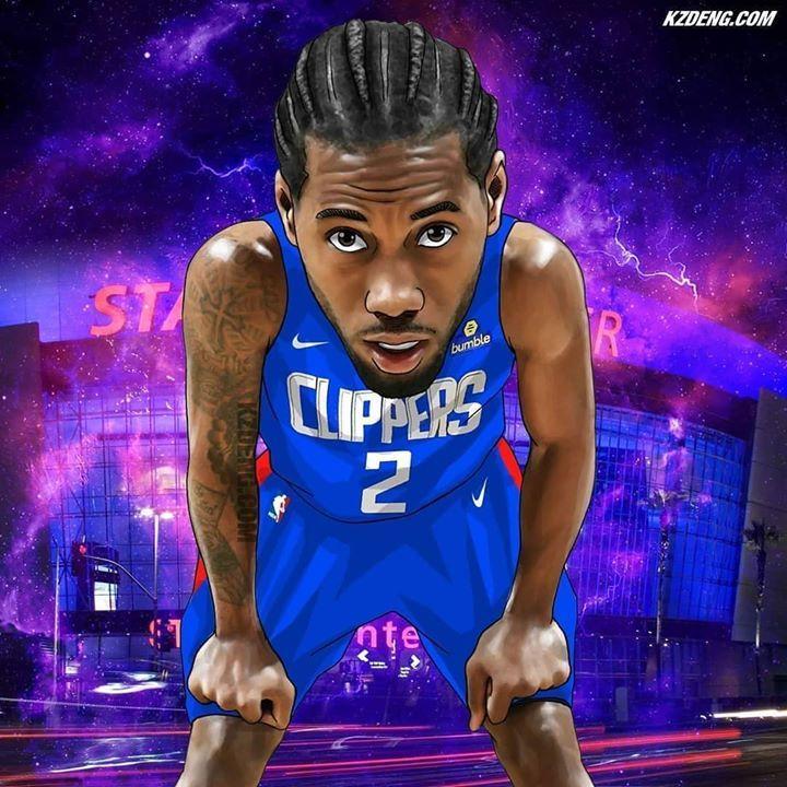 Kawhileonard Nba Basketball Art Nba Art Nba Wallpapers