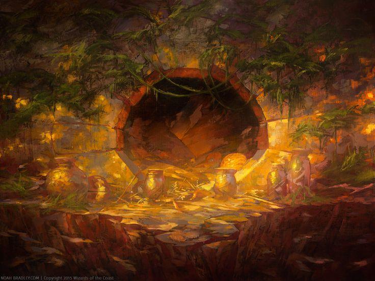 Forgotten Cave   Noah Bradley