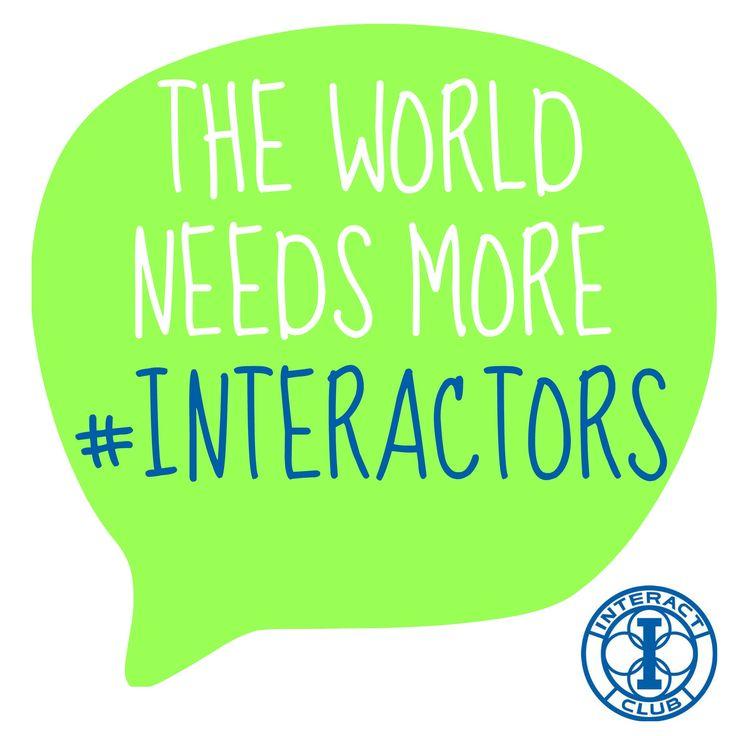 #Rotary #Interact
