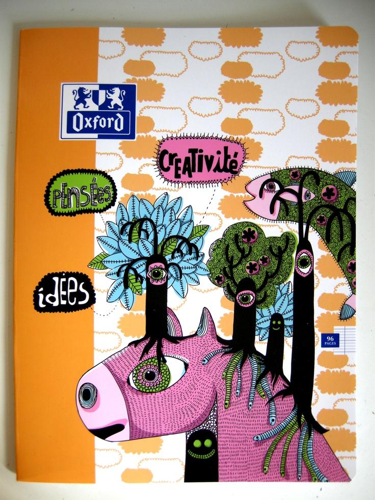 cahier oxford, lauréate du concours 2012, Lydiane Karman