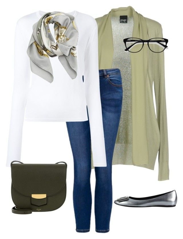 """""""Untitled#177"""" by bidlekerika on Polyvore featuring PF Paola Frani, T By Alexander Wang, Roger Vivier, CÉLINE, Hermès and EyeBuyDirect.com"""