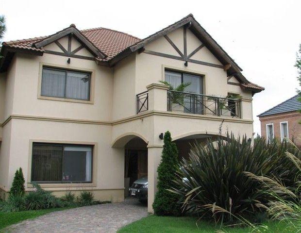 Modelos de fachadas de casas de una planta dise o de for Diseno chalet una planta