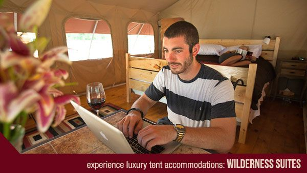 GLAMPING -Wilderness Suites Luxury Tent Accommodations - Long Point, Ontario