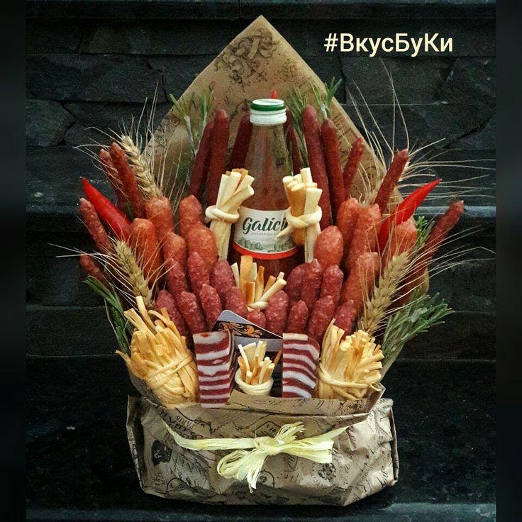 @vkusnie_buketi_kiev #ВкусБуКи Колбасные букеты