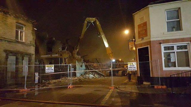 This Is Bradford - Local News Blog: BREAKING Drummond Mill in Lumb Lane is being demolished
