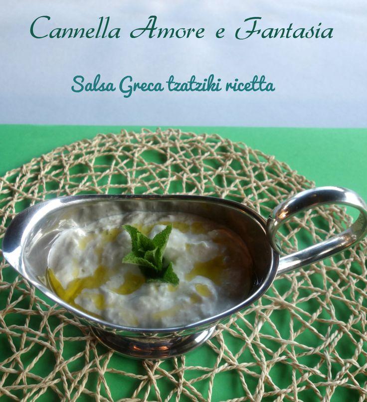 La salsa greca tzatziki ricetta originale perchè facendo spesso lle vacanze al sole della meravigliosa Grecia,ho avuto la ricetta da un'anziana signora greca