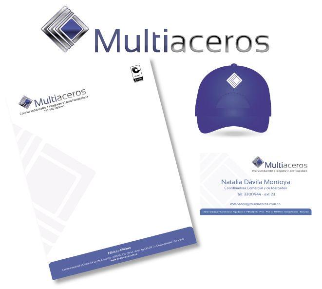 Rediseño de imagotipo y creación de Manual de identidad Corporativa. Marca Multiaceros