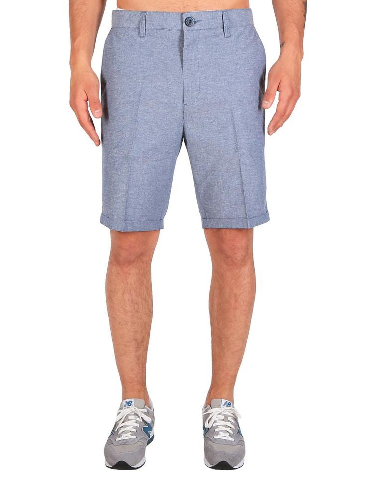 Golfer Chambray Short [jeansblue] *** IRIEDAILY SPRING SUMMER COLLECTION 2016 – MY CITY MY RULES – OUT NOW: https://www.iriedaily.de/blog/iriedaily-spring-summer-collection-2016-my-city-my-rules-out-now/