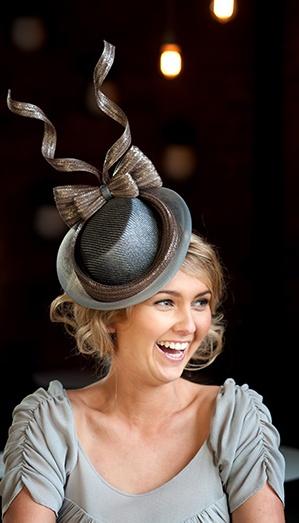 Rebecca Share Millinery... Fabulous take on a fedora