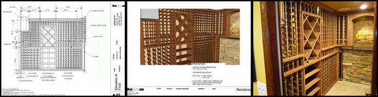 custom wine cellar design
