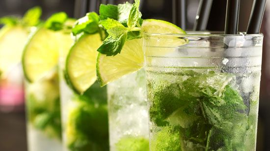 Wouldn't be a great end of summer party without Yummy Mojitos!