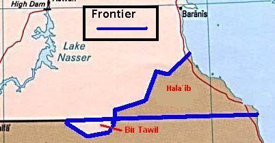 Bir Tawil Land that belongs to no nation