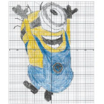 Minion BEE-DO Coordinate Plane Graphing Activity ...