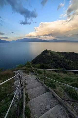 Garda Lake  Italy Manerba del Garda La Rocca