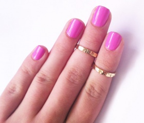 Gold Midi Rings - I am obsessed with these new rings! So unique and different!