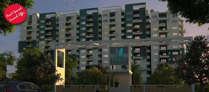 Uber Verdant 2 BHK, 3 BHK flats for sale in sarjapur road bangalore with modern amenities and species landscaped balconies to their own flat.