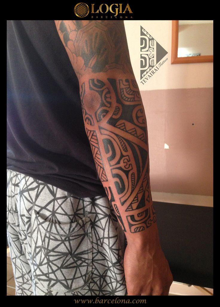 Φ Artist TEVAIRAI Φ Info & Citas: (+34) 93 2506168 - Email: Info@logiabarcelona.com www.logiabarcelona.com #logiabarcelona #logiatattoo #tatuajes #tattoo #tattooink #tattoolife #tattoospain #tattooworld #tattoobarcelona #tattooistartmag #tattoosenbarcelona #ink #arttattoo #artisttattoo #inked #inktattoo #tattoocolor #antebrazo #tattooartwork #maoritattoo