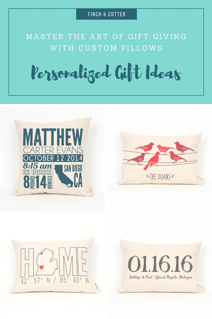 138 best finch cotter personalized pillows and home decor images have finch cotter create a personalized pillow for you negle Images