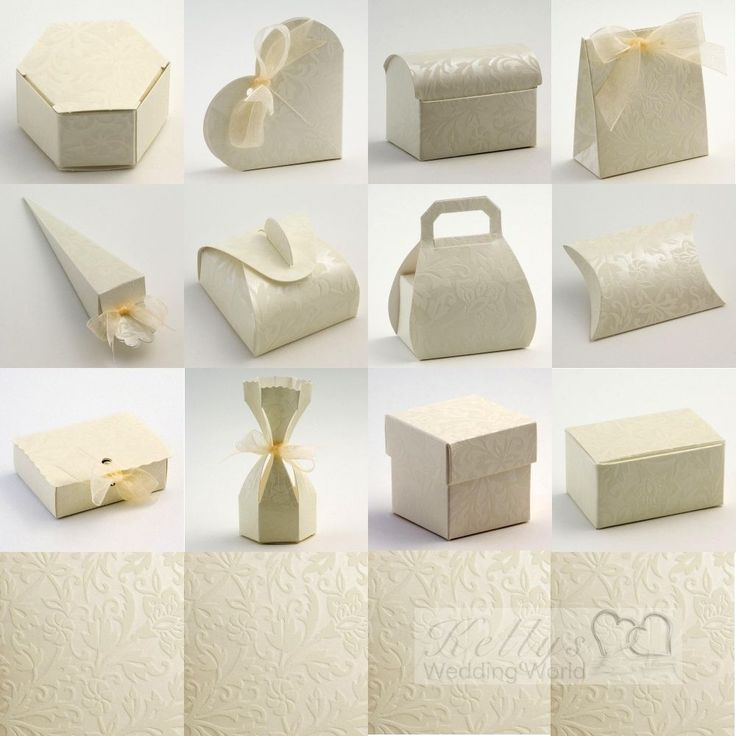 12 best diy wedding favour boxes uk images on pinterest favour diy project wedding favour pouches made from recycled brown card 2015 2016 http junglespirit Image collections