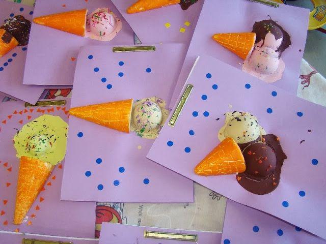 Els nostres moment a l'aula d'infantil: Tapa álbum helados