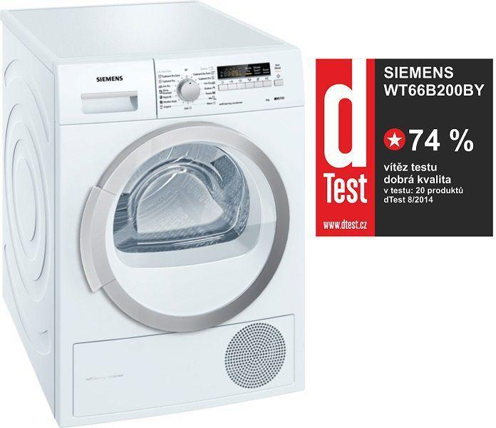 Sušička prádla Siemens WT66B200BY kondenzační: ONLINESHOP.cz