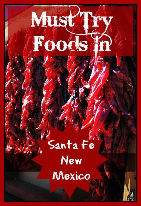 I loved trying (and sometimes burning my mouth on) the great food that I ate in Santa Fe, NM. Here is a great suggestion for where and what to eat while visiting Santa Fe!