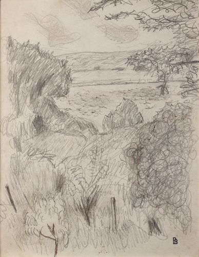 Paysage à Vernon by Pierre Bonnard on artnet Auctions