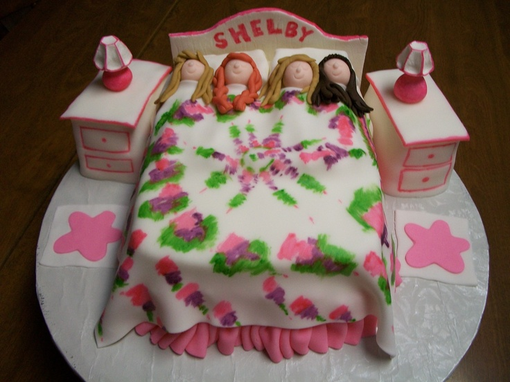 Cake Decorating Ideas For 10 Year Old Boy : Sleepover birthday cake. Sleepover Cakes Pinterest