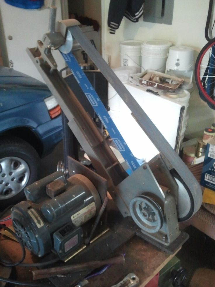 Coote Belt Grinder Belt Grinder Homemade Tools Bench