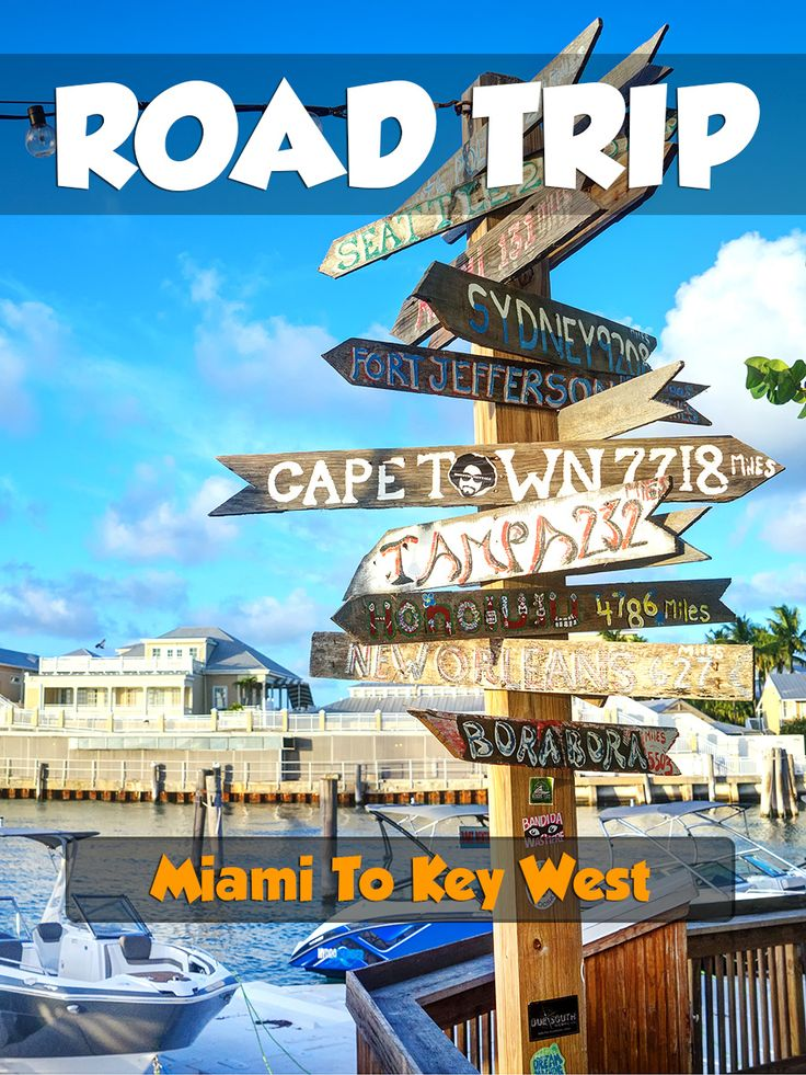 Road Trip to Key West, Florida