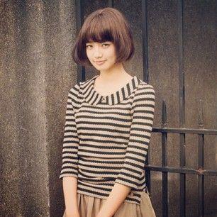 小松菜奈の前髪ぱっつん黒髪ロングの作り方♡ショートやアレンジも!   美人部