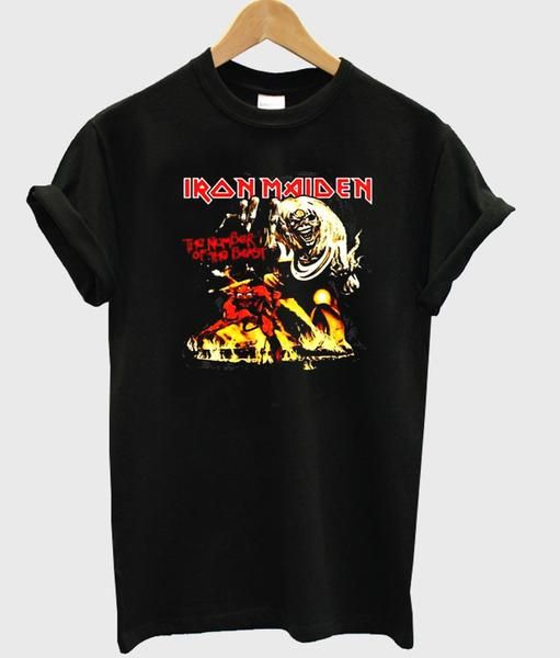 Iron Maiden Womens T-shirt
