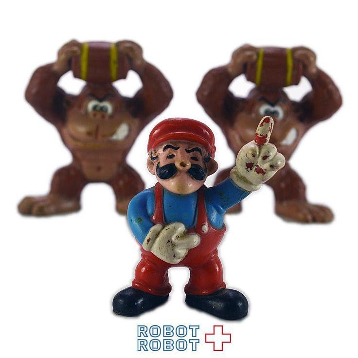 コレコ社ドンキーコングマリオのPVCフィギュア Coleco Mario & Donkey Kong PVC Figure Nintendo #Gamecharacter #ゲームキャラクター #アメトイ #アメリカントイ #おもちゃ #おもちゃ買取 #フィギュア買取 #アメトイ買取 #WeBuyToys #vintagetoys #中野ブロードウェイ #ロボットロボット #ROBOTROBOT #中野 #ゲームキャラクター買取 #マリオブラザーズ #マリオブラザーズ買取 #MarioBros #ニンテンドー #ニンテンドー買取 #NINTENDO #WeBuyToys