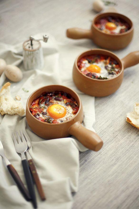 Huevos Rancheros en su cazuela