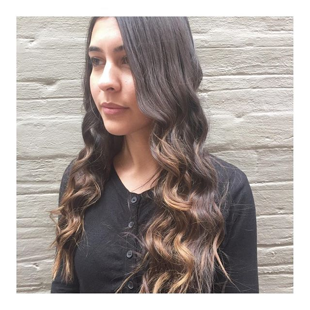 PRETTY • mermaid vibes on the lovely Carla... 👩🏽Styled • Top Stylist @jamie_toniandguyperth  @toniandguyau @toniandguyperth @labelmau @WellaProANZ @Wellawa  @IdHairau #MyToniAndGuy #ToniAndGuy #Hairspiration #LongHair #Bangs #StraightHair #WavyHair #Sleek #Blowdry #LusciousLocks #Balayage #Ombre #Highlighted #Wellawa #KolestonPerfect #ColorTouch #PerthHair #InstaHair #Hairdressing #Style #Fashion #FashionMeetsHair #WolfeLane