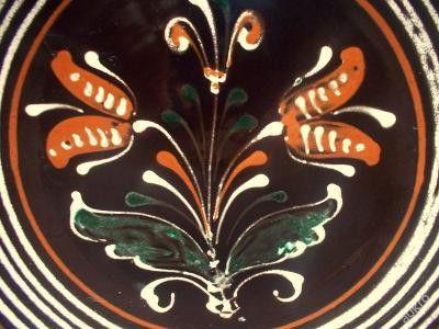 Weiteres - BOEHMEN BAUERNMALEREI  UNIKATE 2 ALTE WANDTELLER  - ein Designerstück von ausBoehmensHainundFlur bei DaWanda