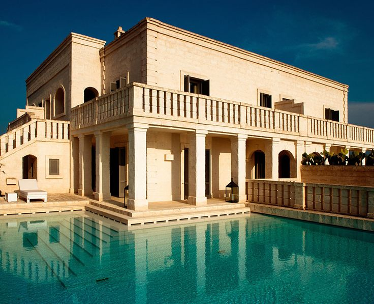 Stop, reflect and refresh by the pool. There's nowhere else like Borgo Egnazia.
