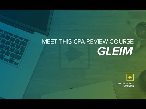 Meet This CPA Review Course: Gleim