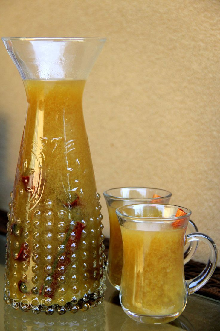 Canelazo or naranjillazo spiced cinnamon drink
